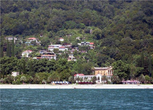 Гагра- курорт Абхазии.